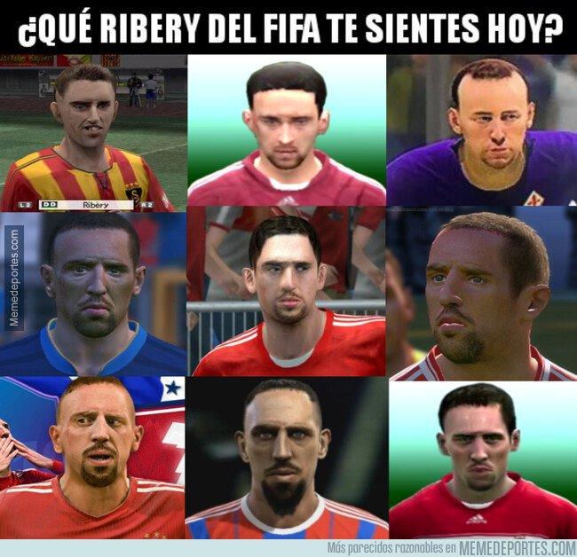 1088723 - ¿Qué Ribéry del FIFA te sientes hoy?