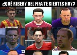 Enlace a ¿Qué Ribéry del FIFA te sientes hoy?
