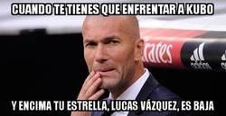 Enlace a Zidane tiene más de una preocupación ahora mismo