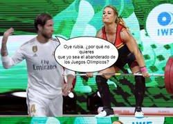 Enlace a Sergio Ramos ya haciendo enemigos y eso que aún no sabe si irá o no a los JJOO...