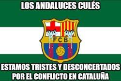 Enlace a Andalucía se solidariza con el pueblo catalán...