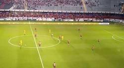 Enlace a INCREIBLE: El Veracruz hizo un protesta al no jugar los primeros minutos contra tigres y estos aprovecharon para marcar 2 goles.