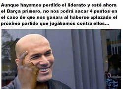 Enlace a Dentro de lo malo de perder el liderato el Madrid, no les ha venido mal que se aplace el clásico...