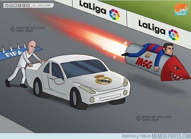 1088867 - El Barça se pone en cabeza, por @zezocartoons