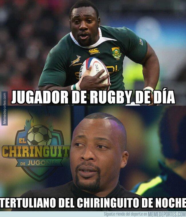 1088900 - Edwin Congo se hace llamar Tendai Mtawarira cuando disputa el Mundial de Rugby