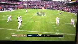 Enlace a Este ha sido el mejor ángulo que se ha podido disfrutar en una jugada de la NFL