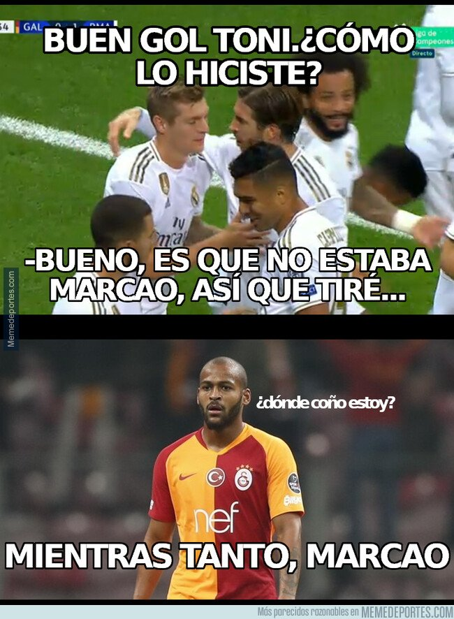 1089054 - Chistaco sobre el Galatasaray - Real Madrid
