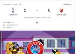 Enlace a Lo del Tottenham es muy confuso