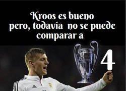 Enlace a Una Champions cada 25 partidos para Kroos