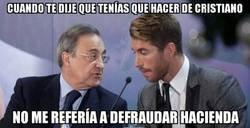 Enlace a Ramos hizo de Cristiano en lo que no debía