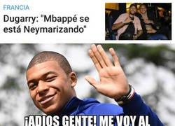 Enlace a La Neymarización de Mbappé