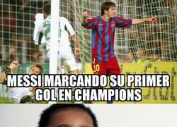 Enlace a Ansu Fati tenía 1 año cuando Messi empezó a anotar por Europa