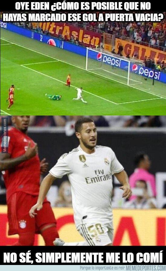 1089250 - Hazard con hambre de gol