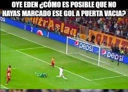 Enlace a Hazard con hambre de gol