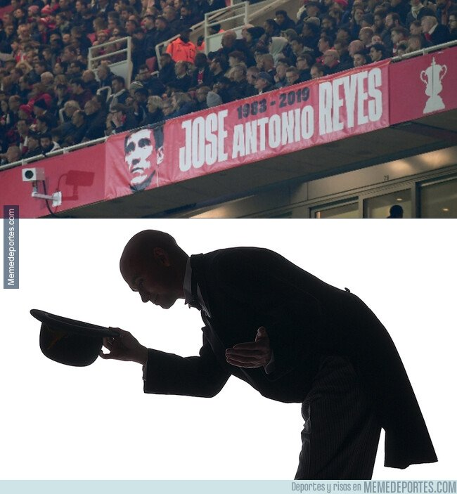 1089261 - El Arsenal recordó la figura de José Antonio Reyes en su último partido de Europa League