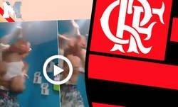 Enlace a Locura total en esta celebración de un hincha del Flamengo con su hijo pequeño tras el pase a la final de la Libertadores