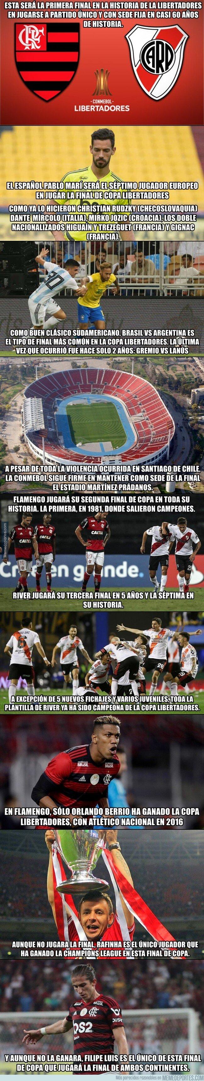 1089281 - Nueve datos para esta nueva final de Copa Libertadores entre River Plate y Flamengo