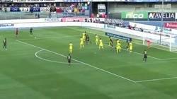 Enlace a Los 28 tiros libres de Cristiano con la Juventus. Pobres barreras.