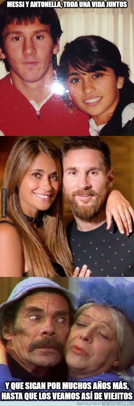 1089301 - Messi y Antonella, toda una vida juntos y lo que les queda...