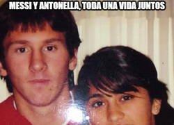 Enlace a Messi y Antonella, toda una vida juntos y lo que les queda...