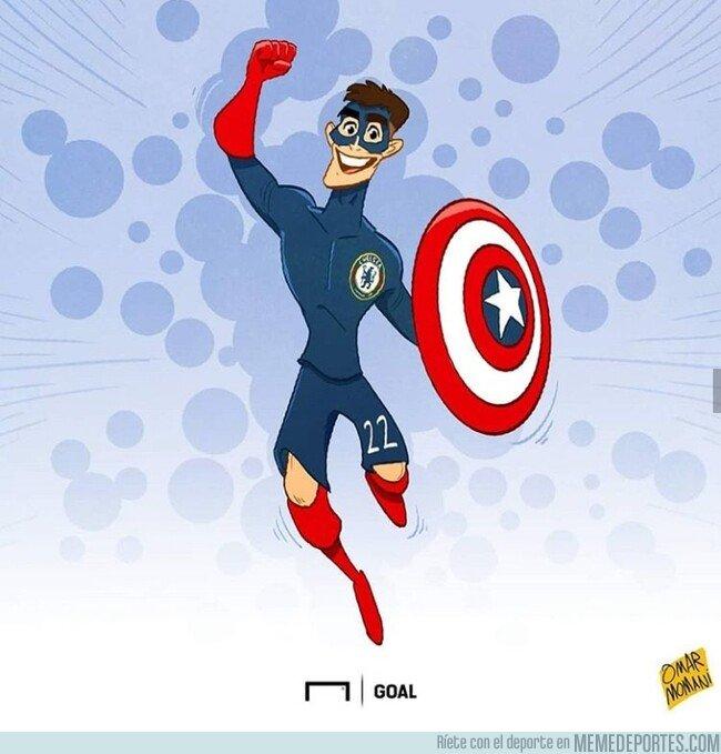 1089408 - El capitán América llegó a la Premier, por @goalglobal