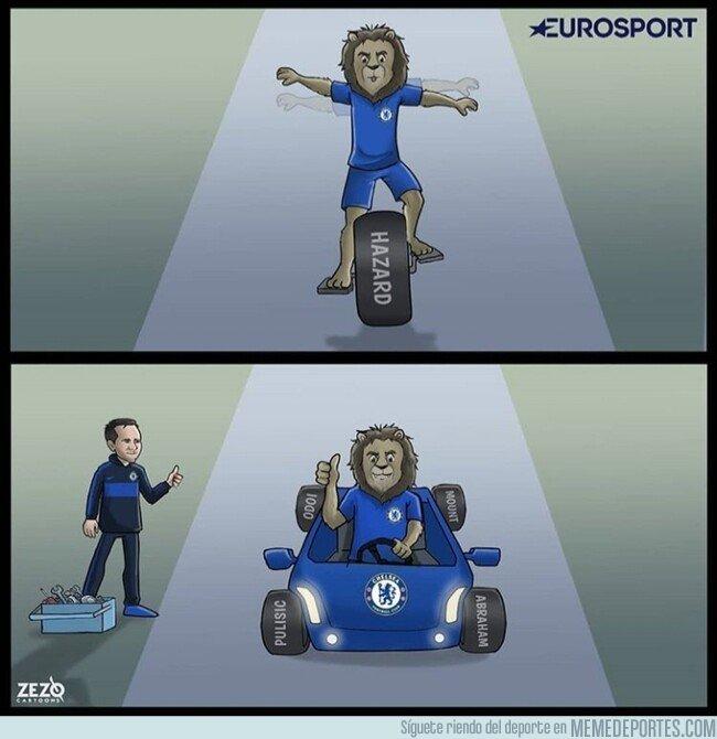 1089410 - Lampard le está dando estabilidad a este Chelsea, por @zezocartoons
