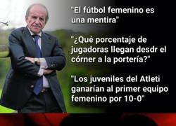 Enlace a Las lamentables declaraciones del periodista José María García sobre el fútbol femenino