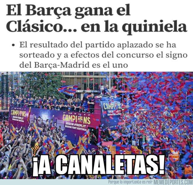 1089457 - El Barça se llevó el sorteo de la Quiniela