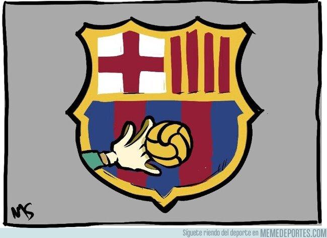 1089475 - El que debería ser el nuevo escudo del Barça, por @yesnocse