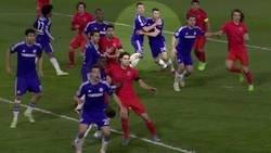 Enlace a Aquella vez que Terry y Cahill se marcaron a sí mismos en un corner