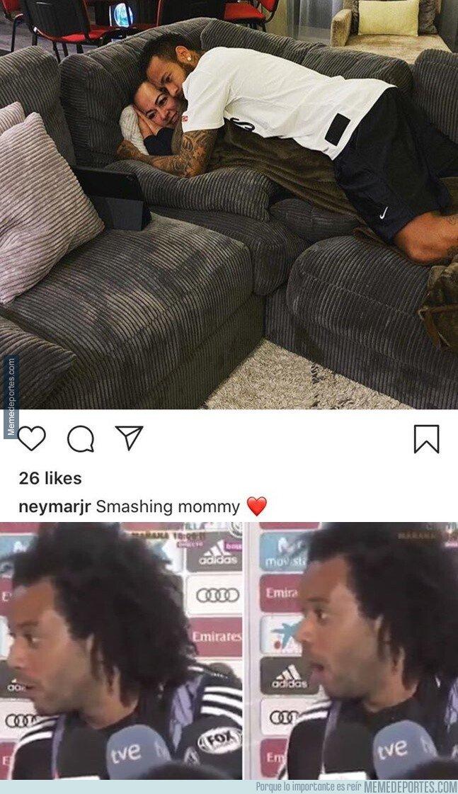 1089534 - Neymar no ha superado el complejo de Edipo