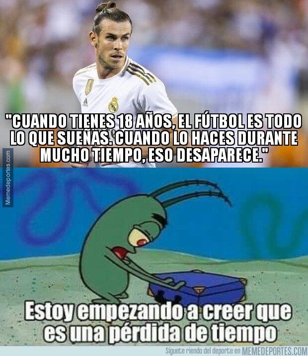 1089549 - Bale ya parece un ex futbolista