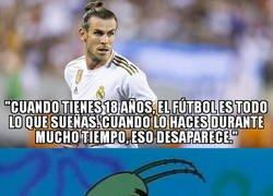 Enlace a Bale ya parece un ex futbolista