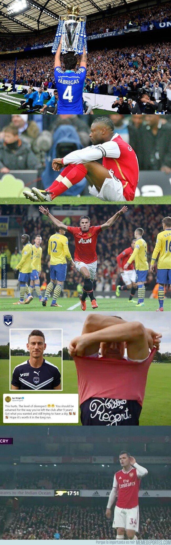 1089577 - Un repaso por los últimos capitanes del Arsenal