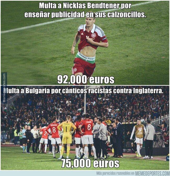 1089591 - La UEFA poniendo multas es como Vinicius disparando al arco