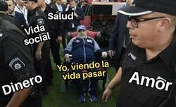 Enlace a Maradona me representa