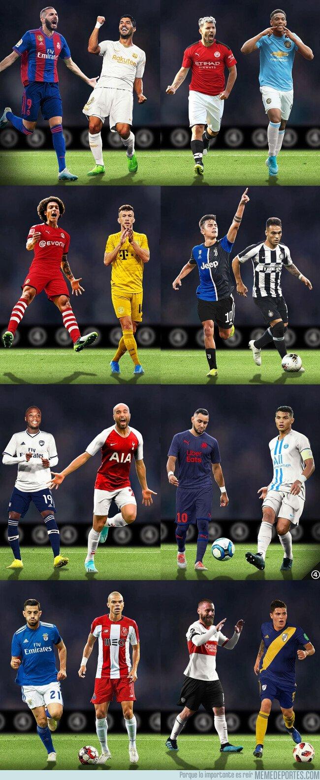 1089641 - Si los equipos intercambiasen colores con sus eternos rivales, por @433