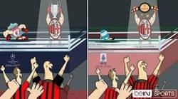 Enlace a Las alegrías del Milan han cambiado, por @footytoonz