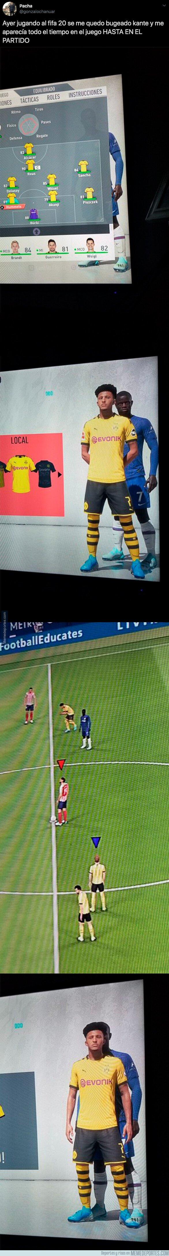1089868 - El bug del FIFA 20 con Kanté como protagonista con el que se está riendo todo el mundo