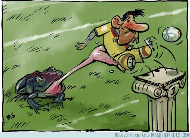1089907 - Los 'granotas' engulleron al Barça, por @yesnocse