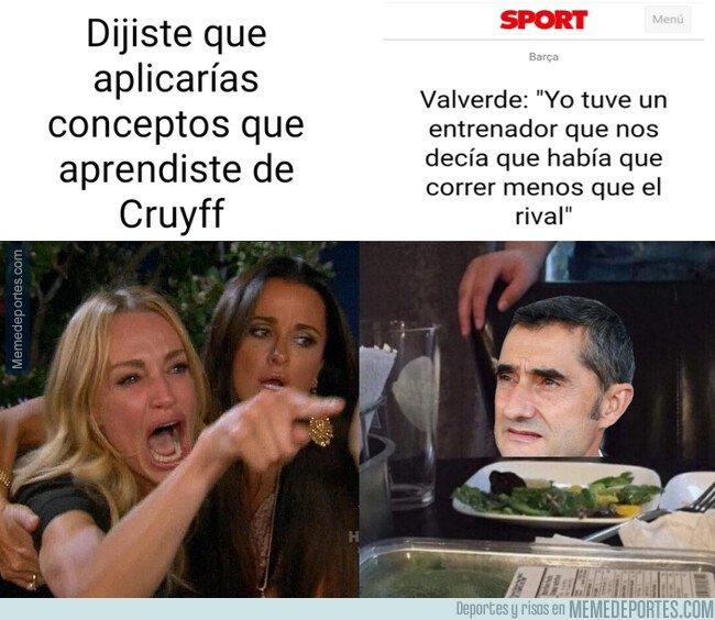 1090018 - Valverde aplicando el Cruyffismo
