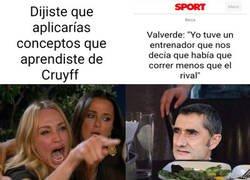 Enlace a Valverde aplicando el Cruyffismo