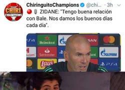 Enlace a La férrea amistad entre Bale y Zidane