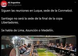 Enlace a La final de Libertadores, sin sede para la final. Capítulo 2.