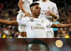 Enlace a Vinicius no se explica el hat-trick de Rodrygo