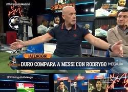 Enlace a Duro compara a Rodrygo con Messi