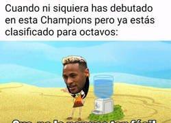 Enlace a Neymar está dentro sin despeinarse