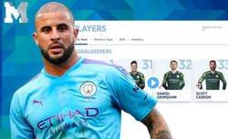 Enlace a El brutal mensaje del Manchester City después del gran debut de Kyle Walker como portero en Champions