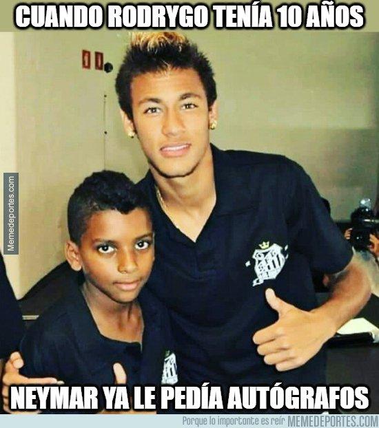 1090406 - Cuando Neymar quería ser como Rodrygo