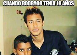 Enlace a Cuando Neymar quería ser como Rodrygo